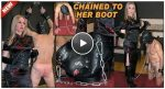 The English Mansion – Mistress Sidonia – Chained To Her Boot