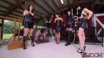 Clubdom – Michelle, Natalya, Isobel, & Lydia Caning
