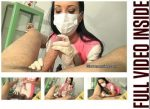 Glove Mansion – Hot latex nurse handjob part 1