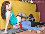 Femme Fatale Films – Miss Zoe – Stupid Bar Steward